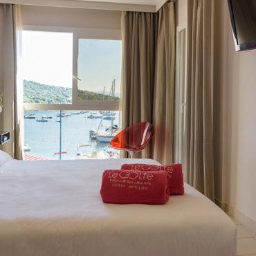 Chambre Familiale vue mer Porto Pollo Corse du Sud