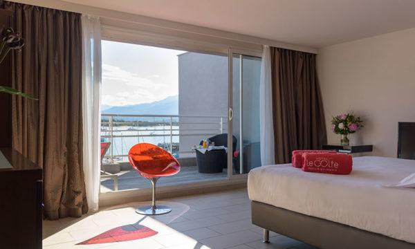 Master Suite vue mer en Corse du Sud