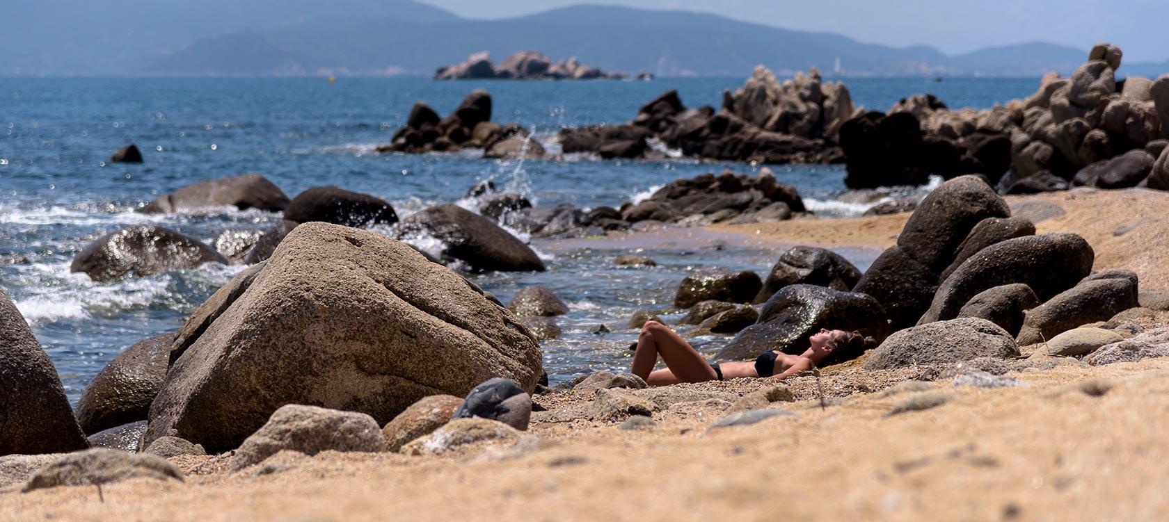Plage Cupabia Corse du Sud